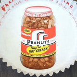 FRANKLIN PEANUTS Sample Paper Cup 1940s