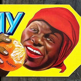 MAMMY Citrus Crate Box Label 1940s