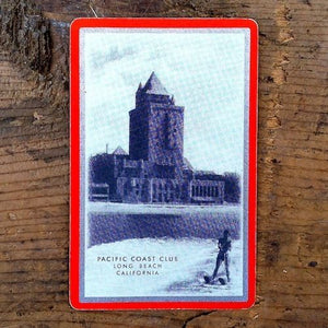 PACIFIC COAST CLUB Playing Card