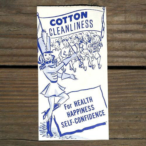 COTTON CLEANLINESS BOOKLET Pamphlet 1950s