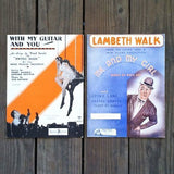SHEET MUSIC Southern Themed 1930s