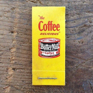 BUTTER-NUT COFFEE Sewing Mending Kit 1930s