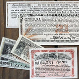 20th Century BOND COUPONS 1900-20s