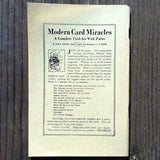 HEANEY'S CATALOG OF WONDERS Magic Book 1920s