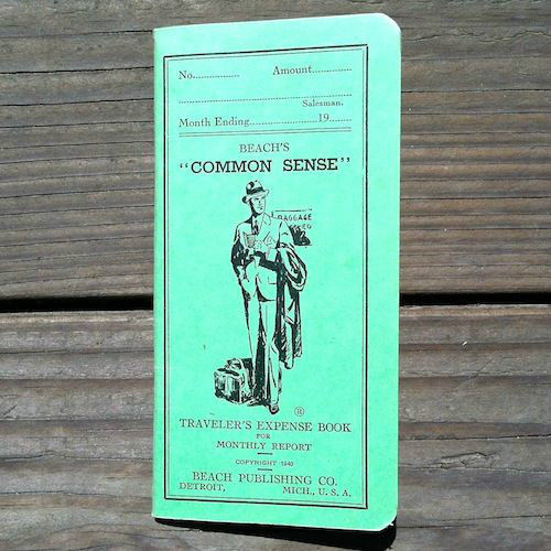 HANDY TRAVELERS EXPENSE Booklet 1930s