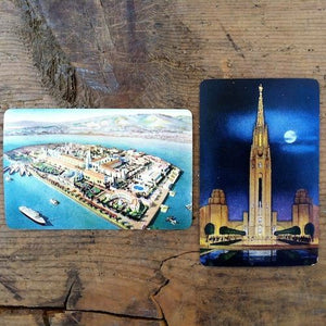 TREASURE ISLAND Worlds Fair Playing Cards 1940s