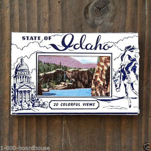 IDAHO Mini Souvenir Postcard Booklet 1930s