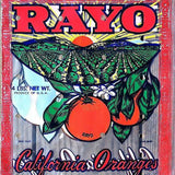 RAYO CALIFORNIA ORANGES Grocery Store Bag 1950s