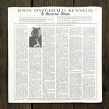 JOHN F. KENNEDY Memorial Record Album 1963