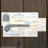 AGUILAR COLORADO MINING Checks Set 1910-20s