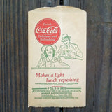 COCA COLA Coke Bottle Protector LIGHT LUNCH 1932