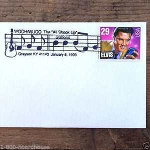 10 ELVIS PRESLEY King Rock & Roll Commemorative Envelope
