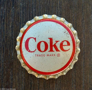 COKE Coca Cola Soda Bottle Cap 1950s