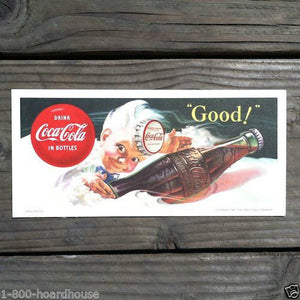 COCA COLA SPRITE BOY Coke Ink Blotter 1953