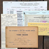 RAILROAD Paper Document Collection 1900-1980s