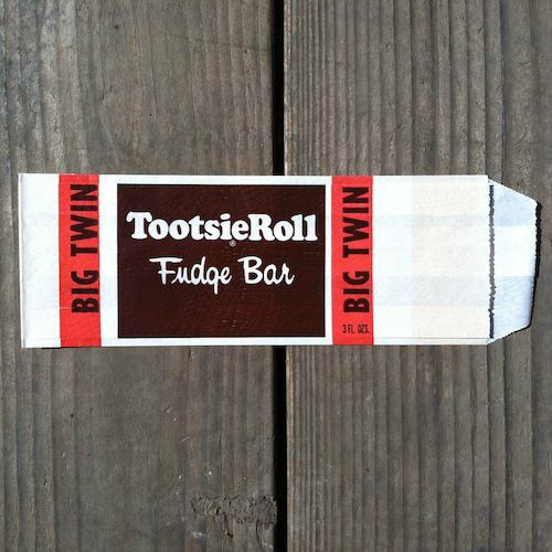 TOOTSIE ROLL FUDGE BAR Snack Bag 1940s