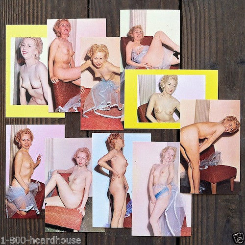 Bella Bordello1950s BURLESQUE PINUP Collectible Cards