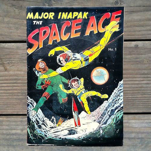 MAJOR INAPAK SPACE AGE Comic Book 1951