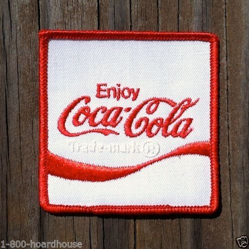 COCA COLA EMPLOYEE Coke Soda Patch 1970s