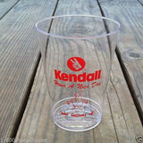 KENDALL OIL DRINK Drop Plastic Cups 1980s