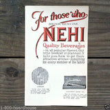 NEHI SODA PREMIUM Catalog Booklet 1920s