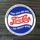 PEPSI COLA Double Dot Drink Coasters 1940s