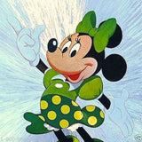 MINNIE MOUSE Walt Disney Postcard 1980s
