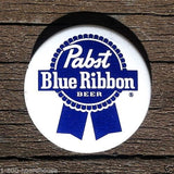 PABST BLUE RIBBON BEER Pin Pinback 1950s