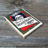 KARO SYRUP Matchbook Matches 1930s