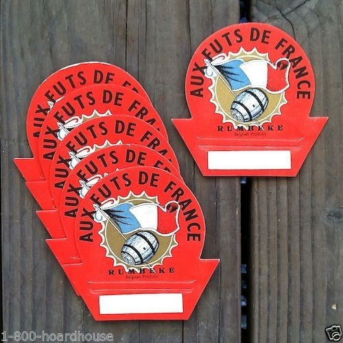 FRENCH WINE BOTTLE Store Toppers 1920s