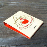 LAKESIDE GOLF CLUB Hollywood Matchbook 1940s