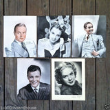 MOVIE STAR STUDIO Fan Pictures 1938-1940s