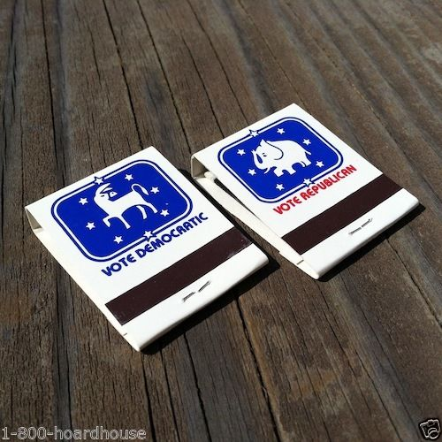 BILL CLINTON BOB DOLE Campaign Matchbooks Matches 1996