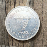 GENERAL DUEL 8 TIRE Advertising Coin 1940s