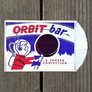 ORBIT BAR Ice Cream Bag 1950s