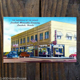 LOVELOCK NEVADA Linen Postcard 1930s