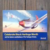 TUSKEGEE AIRMAN Advertising Card 2000