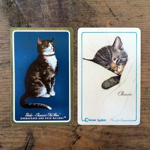 2 CHESSIE RAILROAD Playing Cards