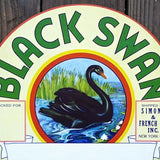 BLACK SWAN BARREL Label 1920s