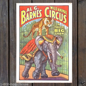 BARNUM & BAILEY World Museum Posters Collection 1960s
