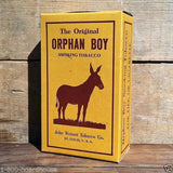 ORPHAN BOY SMOKING TOBACCO Box 1930s