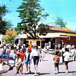 CANOBIE AMUSEMENT PARK Postcards 1950s