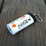 COCA-COLA Halloween Flashlight KEYCHAIN 1996