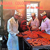 AMANA COLONY Sausage Factory Postcard 1970s