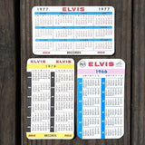 ELVIS PRESLEY 1966-78 Pocket Calendars