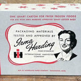 IRMA HARDING FROZEN Food Storage Box 1943
