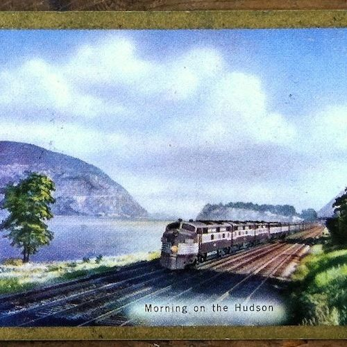 NY CENTRAL TRAIN RAILROAD Playing Card Set