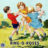 RING-O-ROSES Textile Clothing Label 1930s