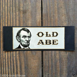 OLD ABE Cigar Box Label 1910s