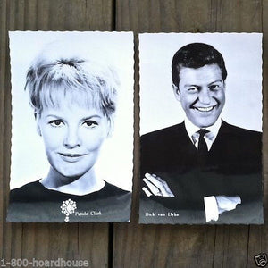 ACTOR HEAD SHOT Postcards 1960s